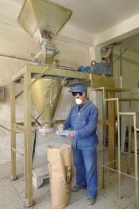 Bearbeitung der Ghassoul Wascherde